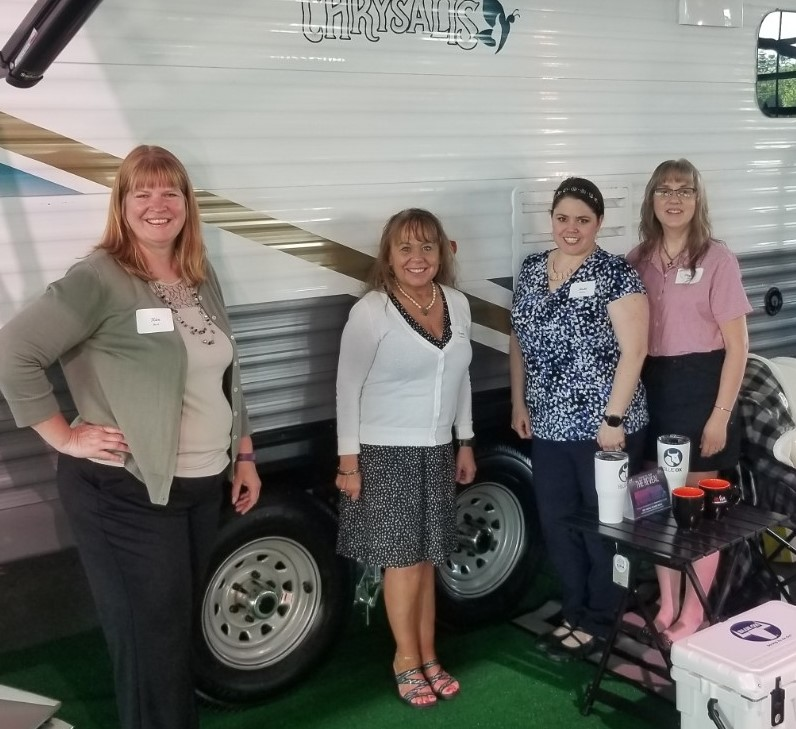 Kenda Americana Tire and Wheel celebrates the unveiling of RV Woman's Alliance 'Drab to Fab' renovation project